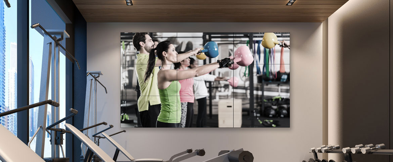 Videowall Fitness 2