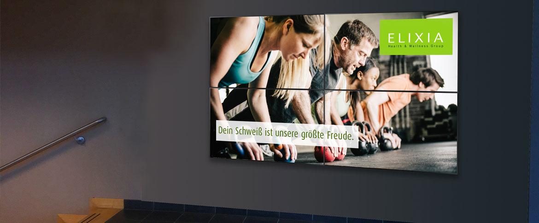 Videowall Fitness