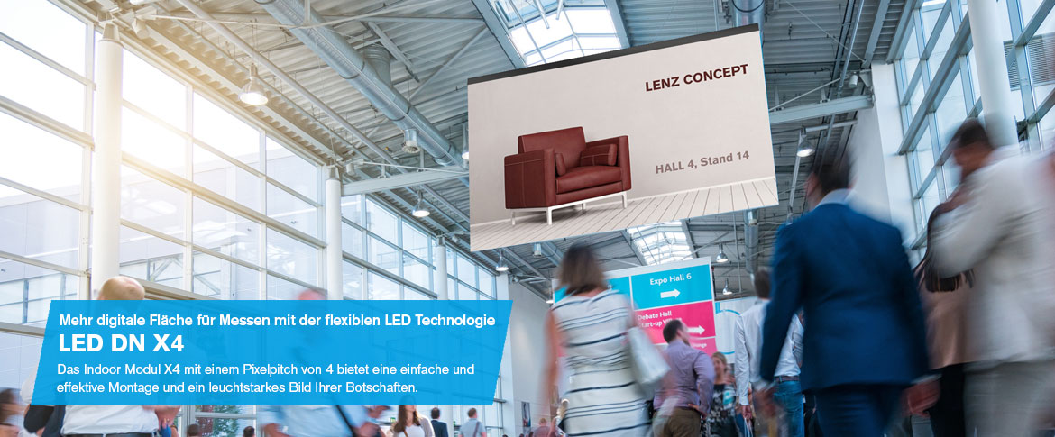 LED WALL MESSE